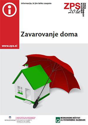 Brošura: Zavarovanje doma